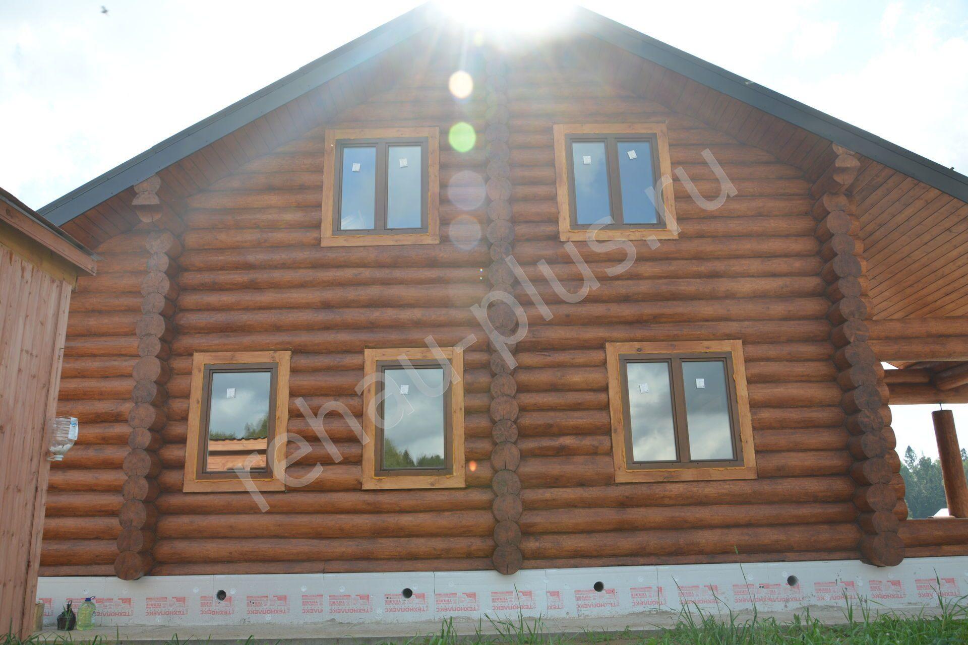 Окосячка окон в деревянном доме. Как сделать окосячку своими 16