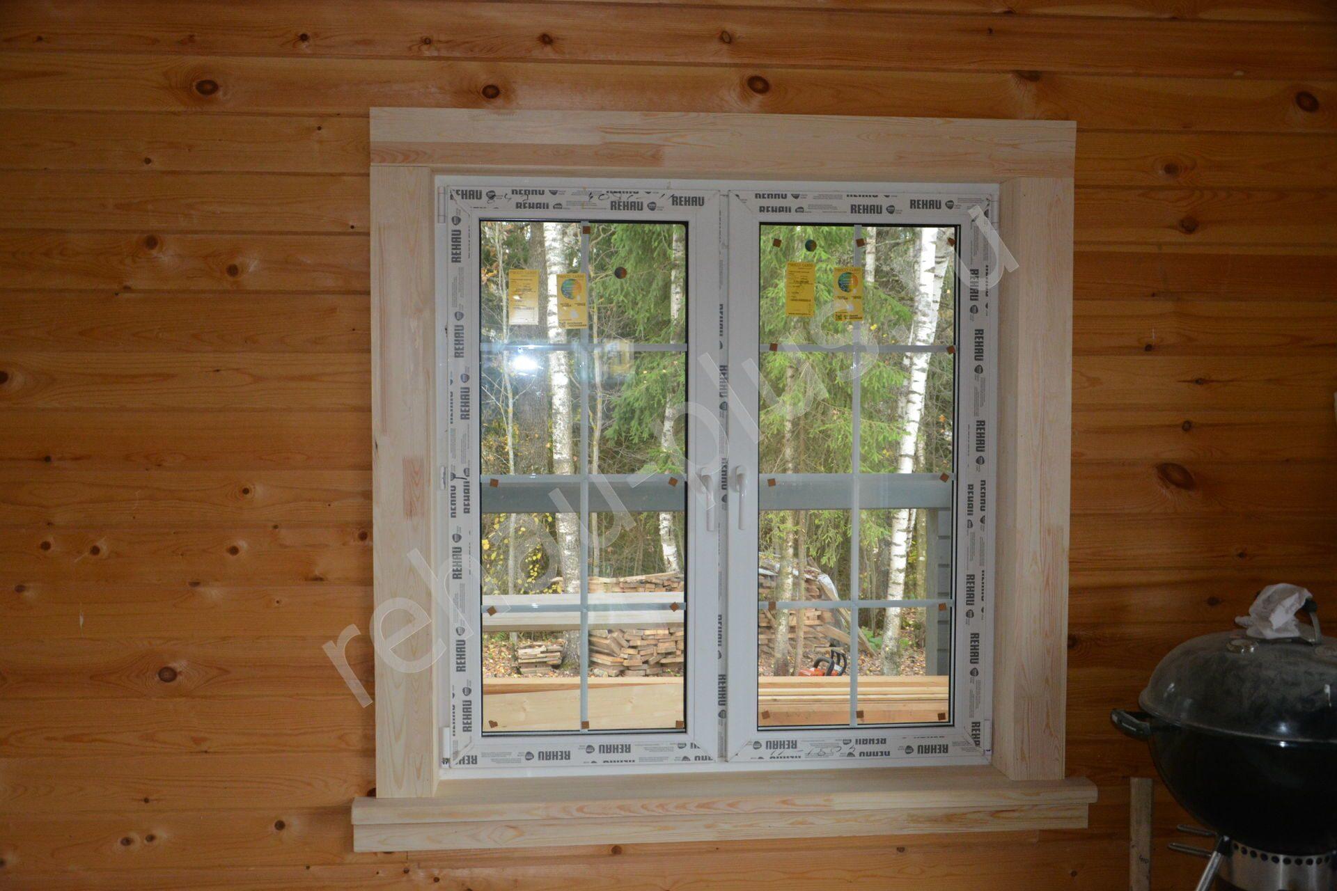 Правильная установка окон и дверей в деревянном доме 31