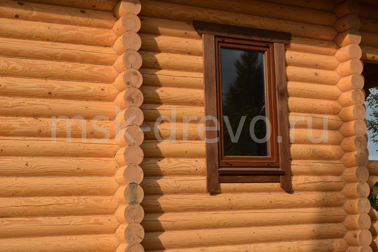 Как сделать у деревянного дома у окон наличники