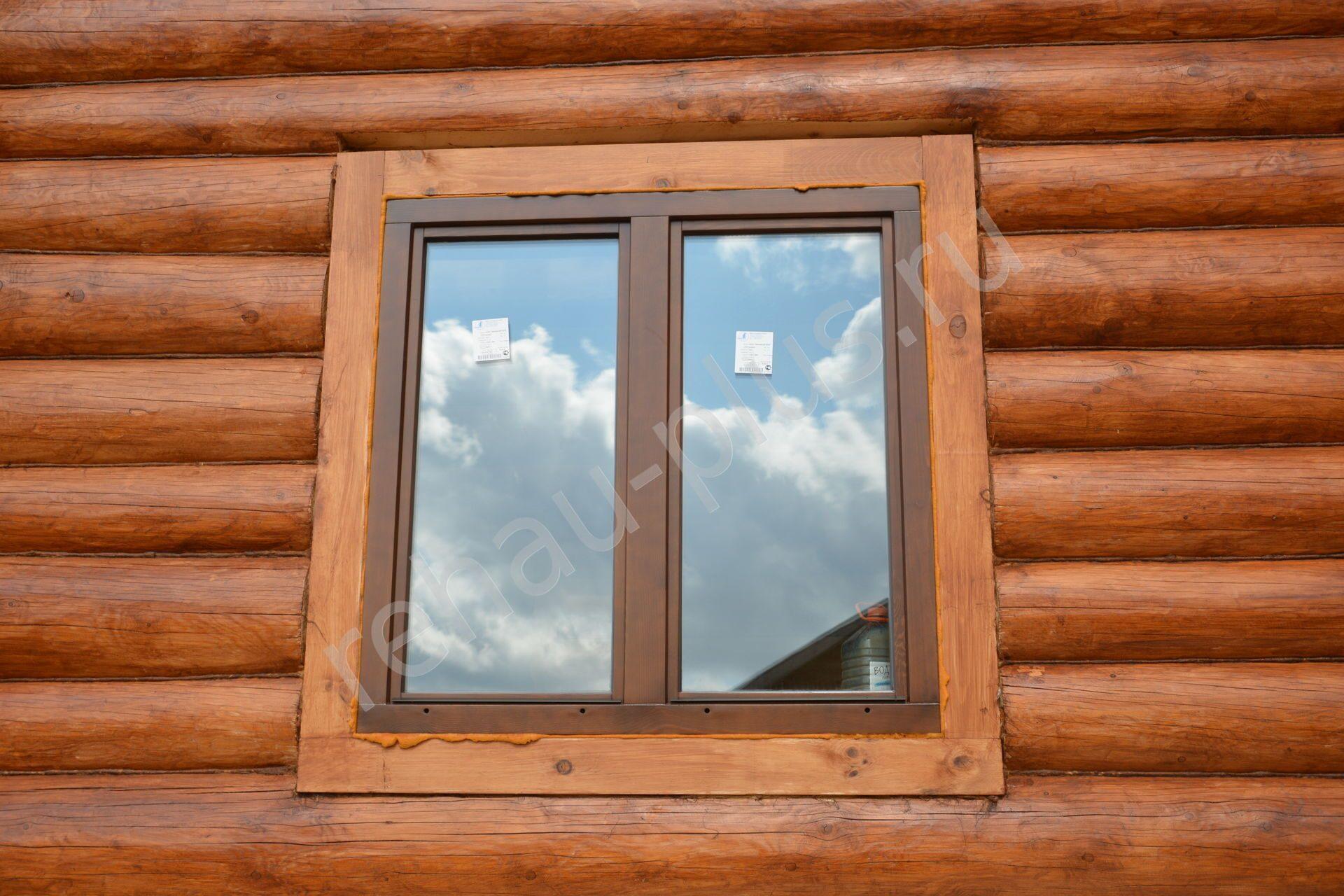 Установка окон своими руками в деревянном доме