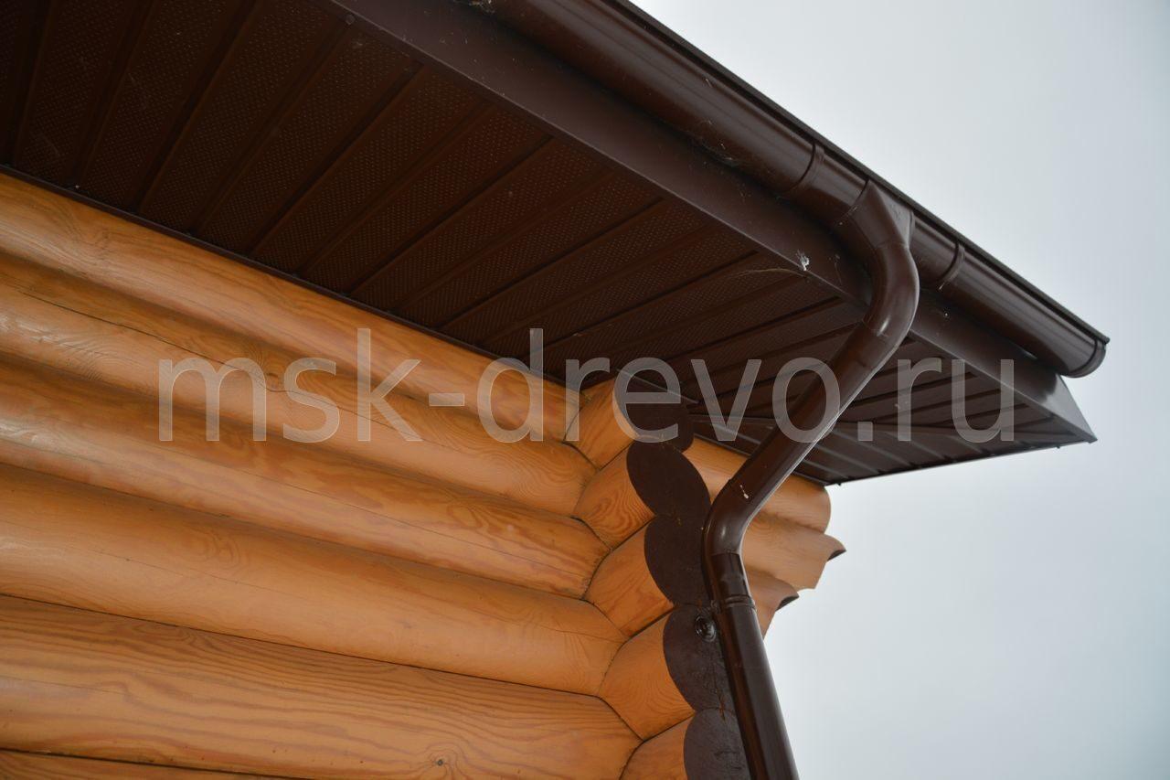 карниз дома фото деревянного